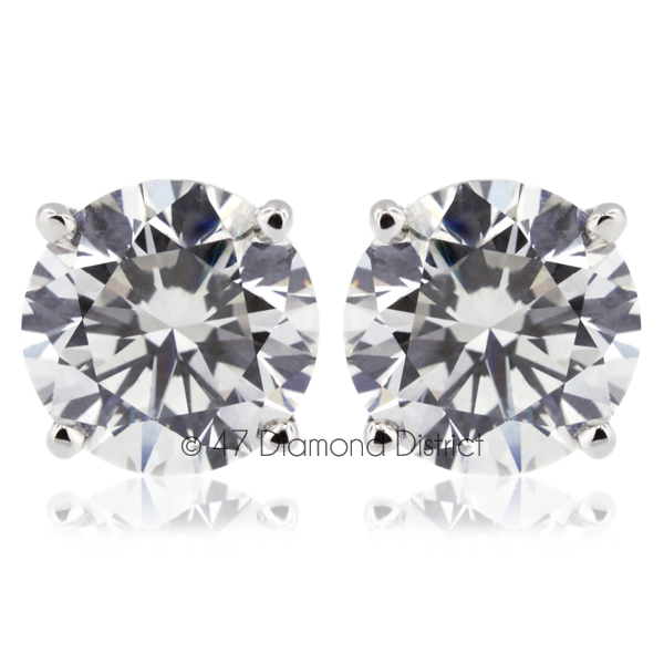 3-05ct-tw-H-SI2-Round-Cut-Natural-Earth-Mined-Certified-Diamonds-14K-Gold-Studs
