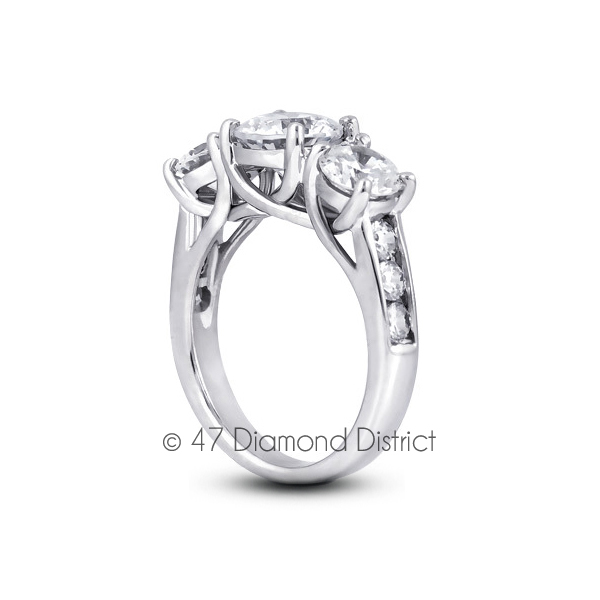4-03ct-tw-D-IF-Round-Natural-Certified-Diamonds-18K-Gold-Classic-Engagement-Ring