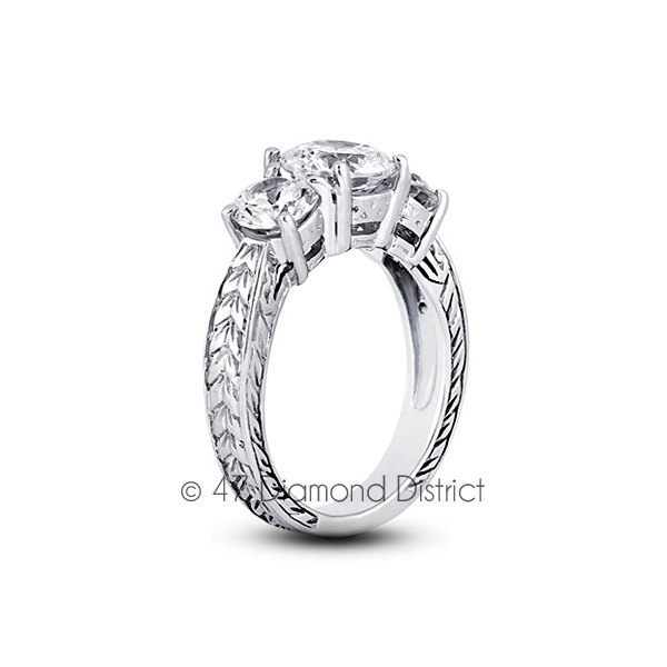 6-03-CT-I-VS2-Round-Natural-Diamonds-18K-Gold-Vintage-Style-Engagement-Ring