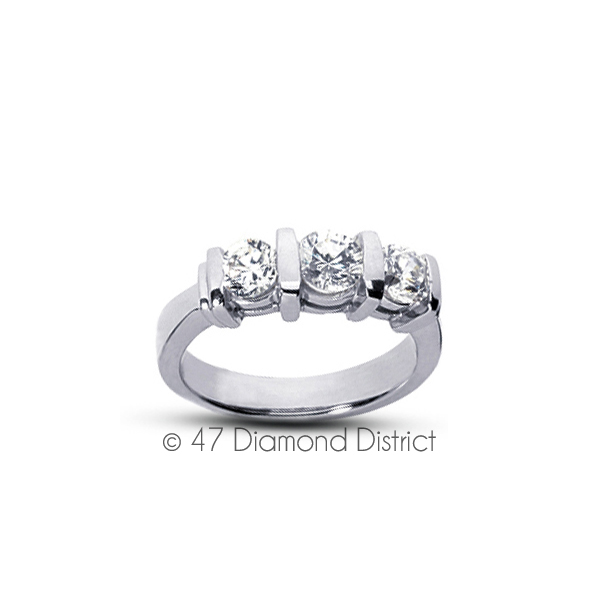 2-23-CT-F-SI1-Round-Natural-Certified-Diamonds-18K-Gold-Classic-Engagement-Ring thumbnail 2