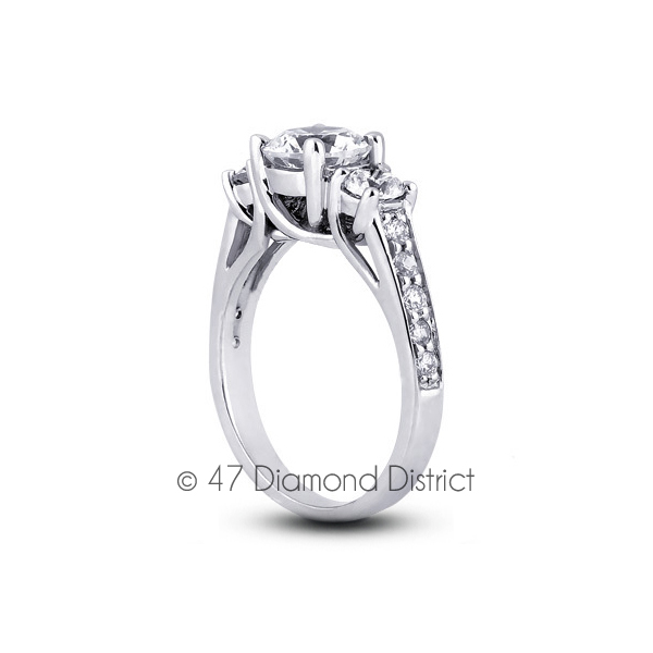3-36ct-tw-F-SI2-Round-Natural-Certified-Diamonds-PT-950-Classic-Three-Stone-Ring